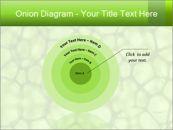 Cell green background PowerPoint Template - Slide 61