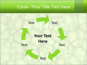 Cell green background PowerPoint Templates - Slide 62