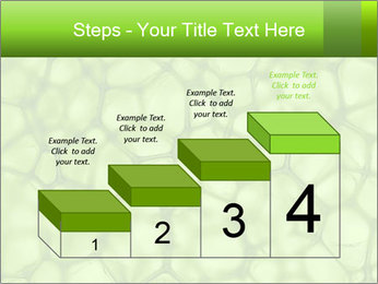 Cell green background PowerPoint Template - Slide 64