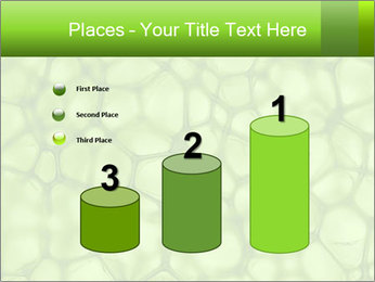 Cell green background PowerPoint Template - Slide 65
