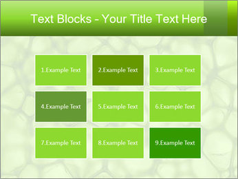 Cell green background PowerPoint Template - Slide 68