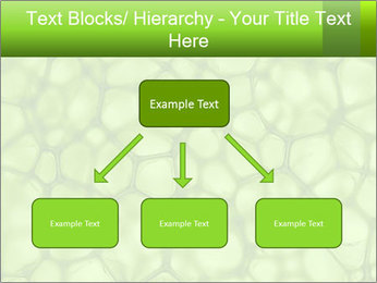 Cell green background PowerPoint Template - Slide 69