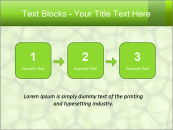 Cell green background PowerPoint Template - Slide 71