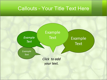 Cell green background PowerPoint Template - Slide 73
