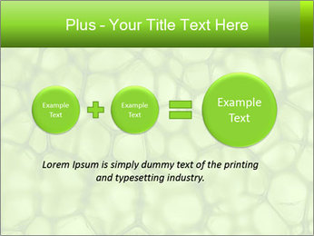 Cell green background PowerPoint Templates - Slide 75