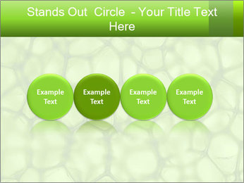 Cell green background PowerPoint Template - Slide 76