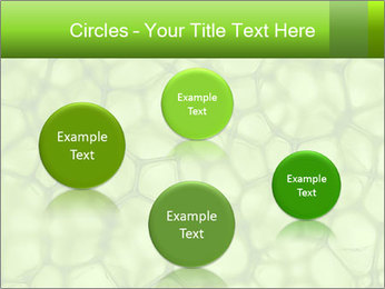 Cell green background PowerPoint Template - Slide 77