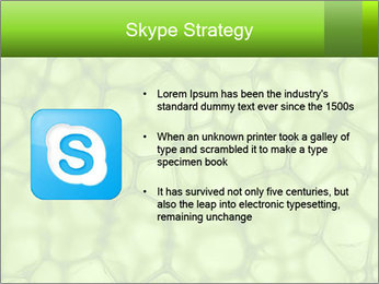 Cell green background PowerPoint Template - Slide 8