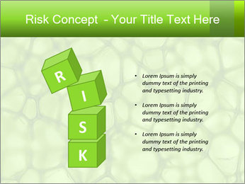 Cell green background PowerPoint Template - Slide 81