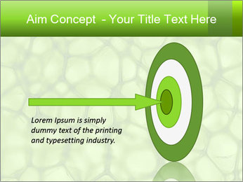 Cell green background PowerPoint Template - Slide 83