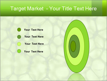 Cell green background PowerPoint Template - Slide 84