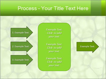 Cell green background PowerPoint Template - Slide 85