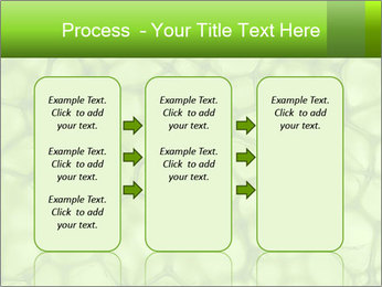 Cell green background PowerPoint Template - Slide 86
