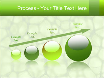 Cell green background PowerPoint Template - Slide 87
