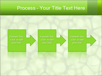 Cell green background PowerPoint Template - Slide 88