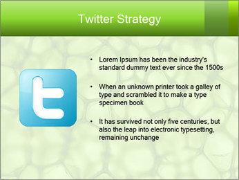 Cell green background PowerPoint Template - Slide 9