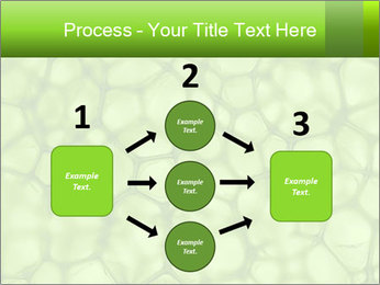 Cell green background PowerPoint Template - Slide 92