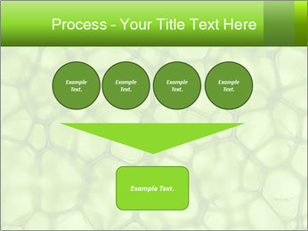 Cell green background PowerPoint Template - Slide 93
