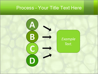 Cell green background PowerPoint Template - Slide 94