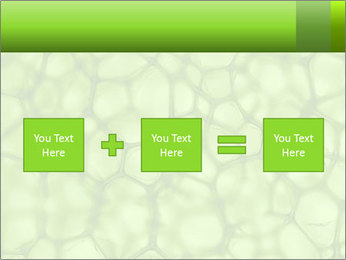 Cell green background PowerPoint Template - Slide 95