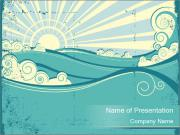 Sea Vector PowerPoint Template