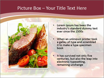 Meat Dish PowerPoint Template - Slide 13
