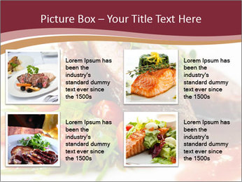 Meat Dish PowerPoint Template - Slide 14