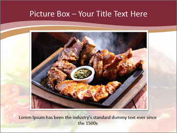 Meat Dish PowerPoint Template - Slide 15