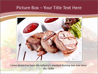 Meat Dish PowerPoint Template - Slide 16