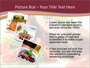 Meat Dish PowerPoint Template - Slide 17