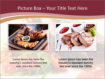Meat Dish PowerPoint Template - Slide 18