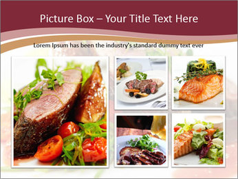 Meat Dish PowerPoint Template - Slide 19