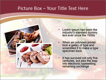 Meat Dish PowerPoint Template - Slide 20