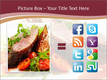 Meat Dish PowerPoint Template - Slide 21
