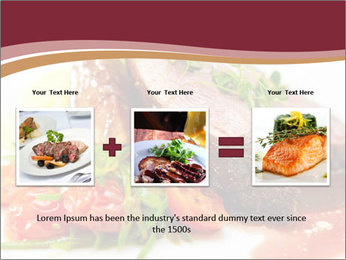 Meat Dish PowerPoint Template - Slide 22