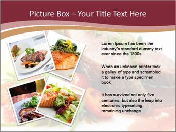 Meat Dish PowerPoint Template - Slide 23