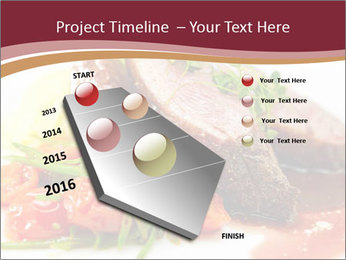 Meat Dish PowerPoint Template - Slide 26