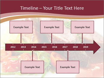 Meat Dish PowerPoint Template - Slide 28