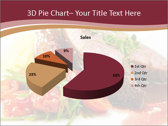 Meat Dish PowerPoint Template - Slide 35