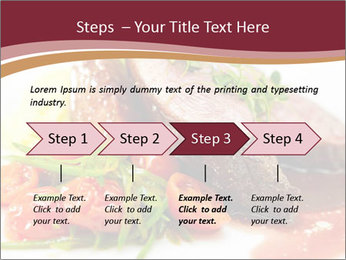 Meat Dish PowerPoint Template - Slide 4