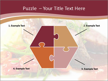Meat Dish PowerPoint Template - Slide 40