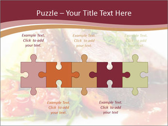 Meat Dish PowerPoint Template - Slide 41