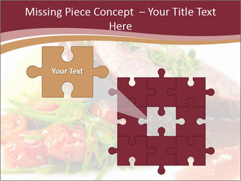 Meat Dish PowerPoint Template - Slide 45