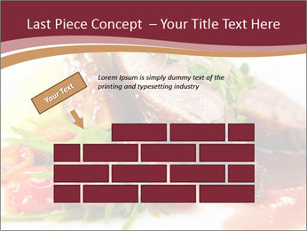 Meat Dish PowerPoint Template - Slide 46