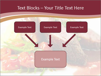 Meat Dish PowerPoint Template - Slide 70