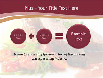 Meat Dish PowerPoint Template - Slide 75