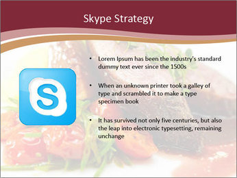 Meat Dish PowerPoint Template - Slide 8
