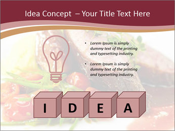 Meat Dish PowerPoint Template - Slide 80