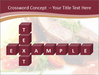 Meat Dish PowerPoint Template - Slide 82