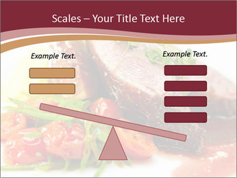 Meat Dish PowerPoint Template - Slide 89